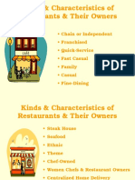 Kinds & Characteristics of Restaurants & Their Owners LO1.ppt
