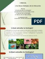 Tema 1 La Biologia y Los Seres Vivos