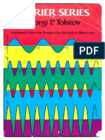 Fourier Series (1962 Edition) (1976) by Georgi P. Tolstov