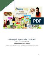 Patanjali Ayurveda Limited.docx