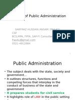 1 Public Administration