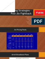 Pricing Strategies –