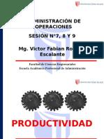 Sesion 07, 08 y 09 Adm Operaciones