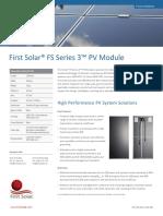Solar® FS Series 3™ PV Module