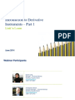 2014 Introduction to Derivative Instruments Part 1 Deloitte Ireland