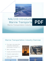 Introduction to Marine Transportation