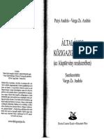Patyi Andras-Varga Zs. Andras - Altalanos Kozigazgatasi Jog (Az Alaptorveny Rendszereben) (2012)
