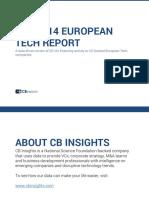 2014 European Tech Report