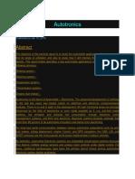 Autotronics.docx