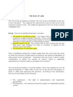 Lect. 7 Concept of the Rule of Law