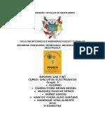 Informe Electronicos 3 Bjt