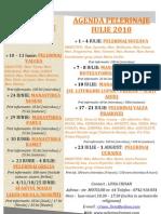 (Pelerinul Roman) Agenda Iulie 2010 (Color)