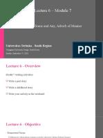 Writing1_Pertemuan6_Modul 7_Aditya.ppt