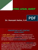 Pengertian & Arti Penting Legal Audit