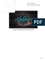 The Shabby Craftsman Kitchen Cabinet Catalog