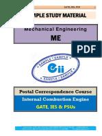 IC Engine Mechanical GATE IES PSU Study Material