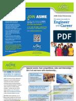 ASME Student Membership Brochure