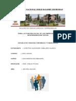 La Función Social de Las Empresas y La LA FUNCIÓN SOCIAL DE LAS EMPRESAS Y LA RESPONSABILIDAD SOCIAL Responsabilidad Social