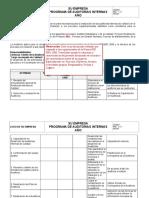 Modelo - Programa de Auditorías Internas (1)