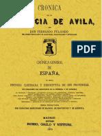 Fulgosio, Crónica géneral de Ávila