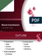 Blood Transfusion Report Pedia