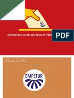 Manual de Procedimentos de Agentes Publicos Estaduais Eleicoes 2016