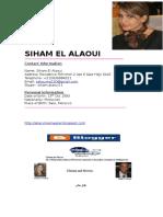 Cv 2017 Siham El Alaoui