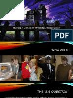 Murder Mystery Writing Workshop
