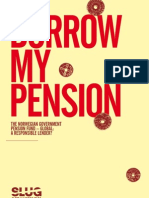 BORROW MY PENSION  - The Norwegian Government Pension Fund – Global