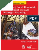 Promoting Local Economic Development Through Strategic Planning Local Economic Development (LED) Series