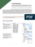 Trimming BI Apps ODI Repository