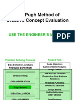 The Pugh Method[1]