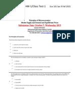 P.microeconomics Quizz 1