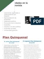 Caída de Perón -Kirchnerismo-nuevos Populismos