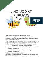 Ang Uod at Bubuyog