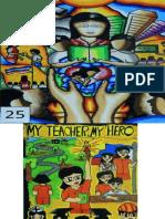 My Teacher My Hero, Poster