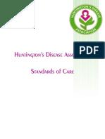 Huntington's Disease Standards of Care