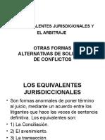 Arbitraje y Otras Formas Alternativas de Termino Del