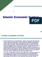 Chap 1 Islamic Economic System