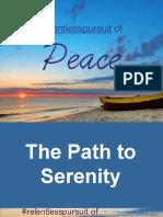 Presentation on SERENITY
