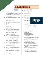 0.1 Logarithms