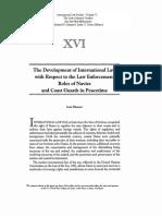 Vol-71 XVI Shearer the Development of International Law