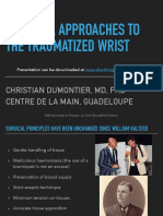 Surgical Approaches Wrist