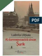 Ludmila Ulitkaia Al Dumneavoastra Sincer Surik