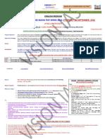 GSM - 8 Full Length Tests - English - 24 September