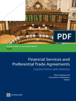 Financial Services and Preferential Trade Agreements