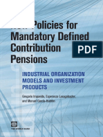 New Policies for Mandatory Defined Contribution Pensions