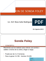Instalacion Sonda Foley