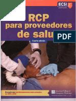 RCP Para Proveedores de Salud