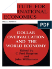 Bergsten & Williamson - Dollar Overvaluation and the World Economy (2003)